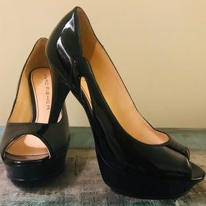 Marc Fisher peep toe heels